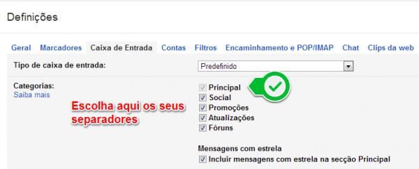 Gmail anuncia nova caixa de entrada