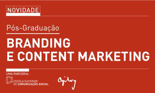ESCS e Ogilvy unem-se para criar Pós-Graduação em Branding e Content Marketing