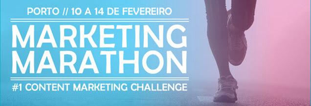 Marketing Marathon agora no Porto, entre 10 e 14 de Fevereiro