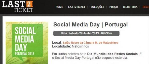social media day 2013, em Matosinhos