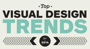 Visual design trends 2014