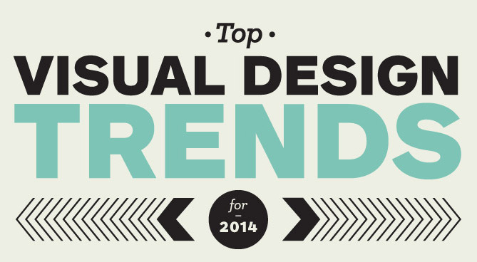 Visual design trends 2014