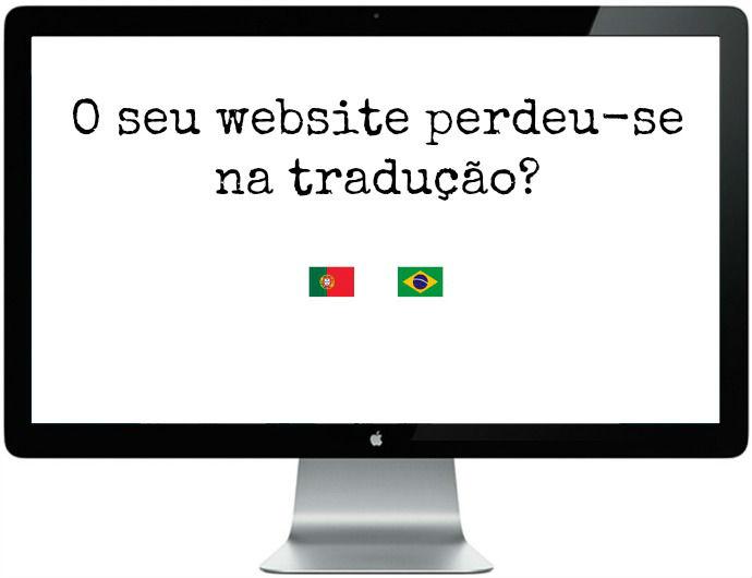 O seu website perdeu-se na tradução?